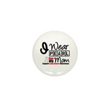 Lung Cancer Mom Mini Button (100 pack)