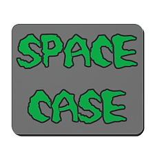 Space Case Gray Mousepad