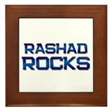 rashad rocks Framed Tile