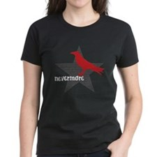 Nevermore Women's Black T-Shirt