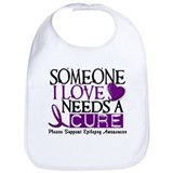 Needs A Cure EPILEPSY Bib