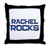 rachel rocks Throw Pillow