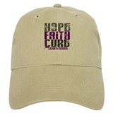 HOPE FAITH CURE Crohns Baseball Cap