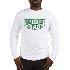 Irish Firefighter's Dad Long Sleeve T-Shirt