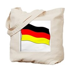 Germany Flagpole Tote Bag