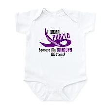 I Wear Purple (Grandpa) 33 PC Infant Bodysuit
