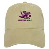 I Wear Purple (Grandfather) 33 PC Baseball Cap