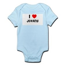 I LOVE JOVANY Infant Creeper