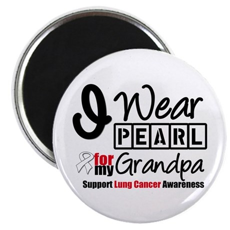 Lung Cancer Grandpa Magnet