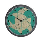 """Three Fish"" Wall Clock"