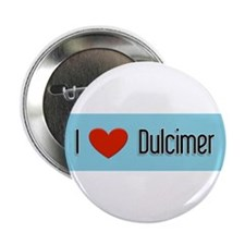 "Dulcimer Gift 2.25"" Button"