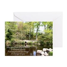 MAY GOOD LUCK Greeting Cards (Pk of 10)