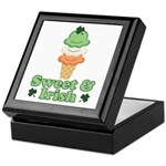 Sweet and Irish Keepsake Box