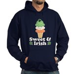 Sweet and Irish Hoodie (dark)