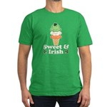 Sweet and Irish Men's Fitted T-Shirt (dark)