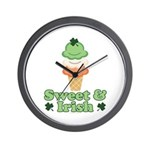 Sweet and Irish Wall Clock