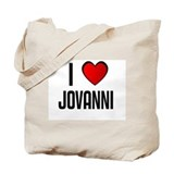 I LOVE JOVANNI Tote Bag