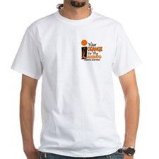 I Wear Orange For My Husband 9 Leukemia Shirt