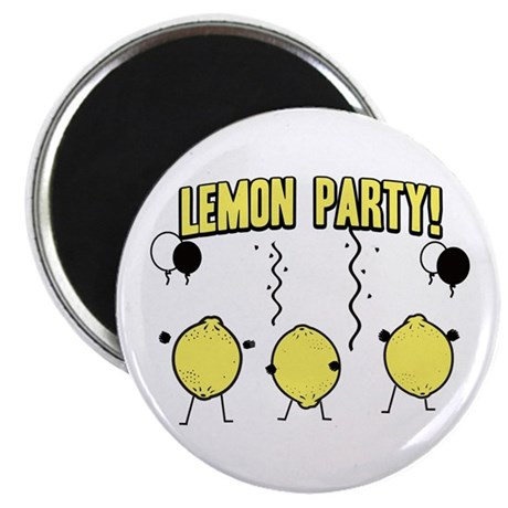 Lemon Party Magnet