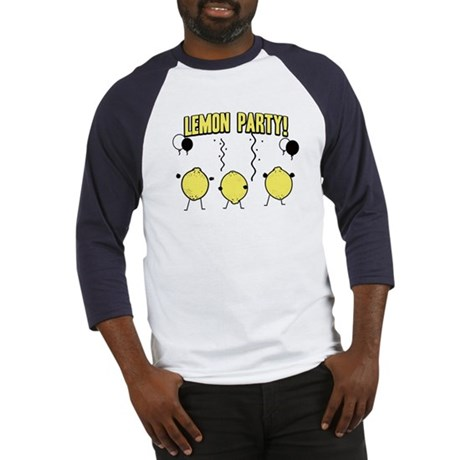 Lemon Party Baseball Jersey