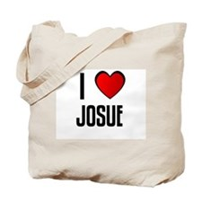 I LOVE JOSUE Tote Bag