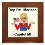 Yep. I'm 'Merican Framed Tile