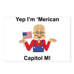 Yep. I'm 'Merican Postcards (Package of 8)