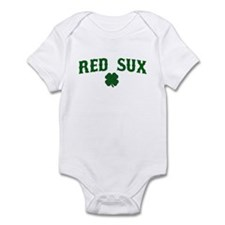 Red Sux St. Patty's Day Infant Bodysuit