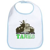 Cute Army love Bib