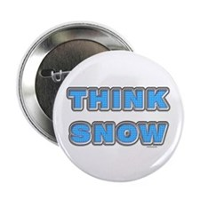 "Think Snow 2.25"" Button (100 pack)"