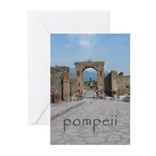Arch in Pompeii Greeting Cards (Pk of 10)