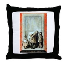 Cute Carl larsson Throw Pillow