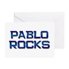 pablo rocks Greeting Card