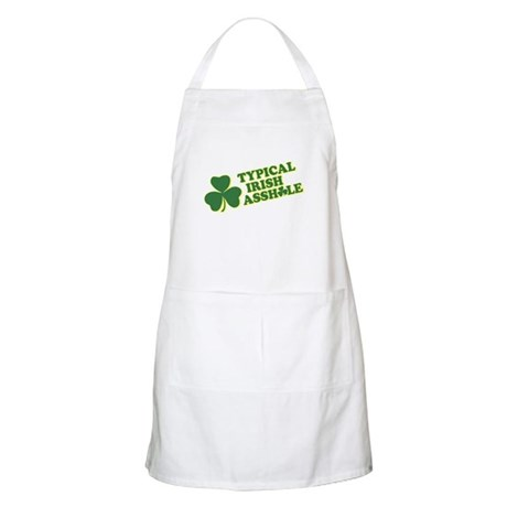 Typical Irish Asshole BBQ Apron