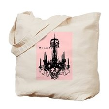 Pink Chandelier Tote Bag