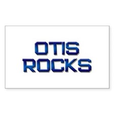 otis rocks Rectangle Decal