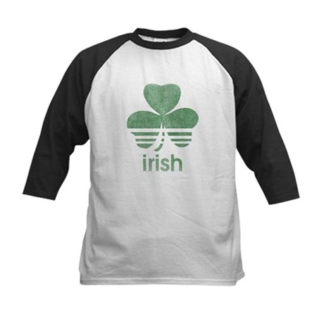 Vintage Irish Logo Kids Baseball Jersey