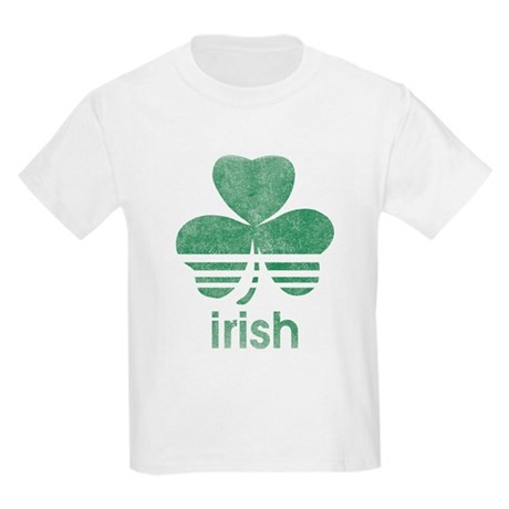 Vintage Irish Logo Kids Light T-Shirt