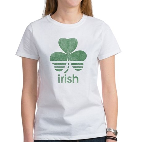 Vintage Irish Logo Womens T-Shirt