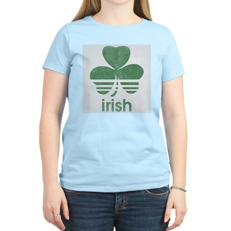 Vintage Irish Logo Womens Light T-Shirt
