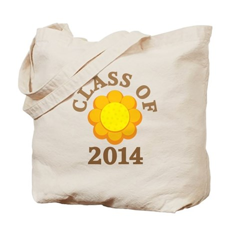 Sunflower Class Of 2014 Tote Bag