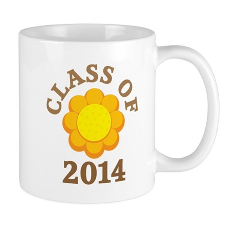 Sunflower Class Of 2014 Mug