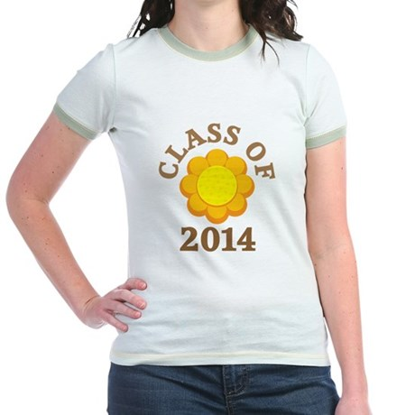 Sunflower Class Of 2014 Jr. Ringer T-Shirt