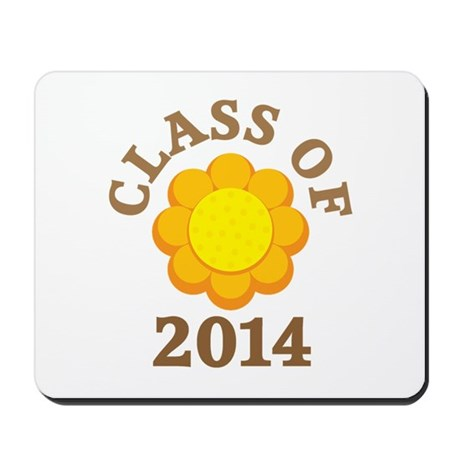 Sunflower Class Of 2014 Mousepad