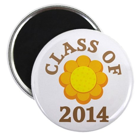 Sunflower Class Of 2014 Magnet