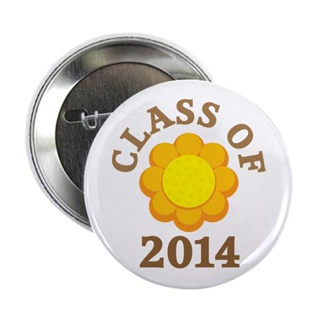 "Sunflower Class Of 2014 2.25"" Button"