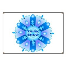 Think Snow Flake Banner