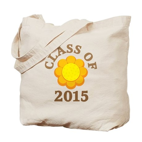 Sunflower Class Of 2015 Tote Bag