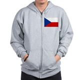 Czech Republic Flag Zip Hoody