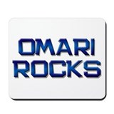 omari rocks Mousepad